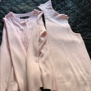 Designers Originals medium sweater set pink